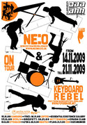 Tour poster 2009 (by Patrick Wolter)