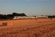 Presles-en-Brie. 15 août 2013. B 82500. Train 117579 Paris-Est - Provins. Cliché Pierre BAZIN