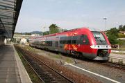 Alès. 10 mai 2008. B 81545-81546. Train 877709 vers Béziers. Cliché Pierre BAZIN