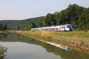 Luzy-sur-Marne. 26 juin 2010. B 82500. Train 1541 Paris-Est - Culmont-Chalindrey. Cliché Pierre BAZIN
