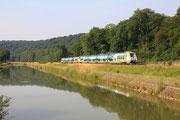 Luzy-sur-Marne. 26 juin 2010. B 82500. Train 1540 Culmont-Chalindrey - Paris-Est. Cliché Pierre BAZIN