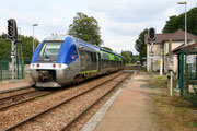 Vierzy. 21 septembre 2015. X 76565-76566. Train 849923 Paris-Nord - Laon. Cliché Pierre BAZIN