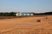 Presles-en-Brie. 15 août 2013. B 82515-82516. Train 11946 Culmont-Chalindrey - Paris-Est. Cliché Pierre BAZIN