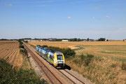Rampillon. 15 août 2013. B 82515-82516. Train 11649 Paris-Est - Culmont-Chalindrey. Cliché Pierre BAZIN