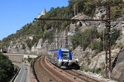 Mercuès. 30 septembre 2011. Z 27500. Train 871643 Brive-la-Gaillarde - Toulouse-Matabiau. Cliché Pierre BAZIN