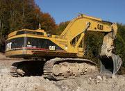 Caterpillar 375 LME von Leonhard Weiss. Aufgenommen im Oktober 2004 bei Coburg.