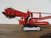 O&K S400 Schaufelradbagger von NZG (Maßstab 1:100)