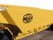 Der Auflieger der MEGA-Corporation