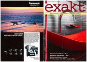"""Artikel Fachzeitschrift """"Exakt""""  vom Aug.2008"""