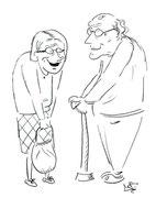 Seniorenpaar3  - Copyright© 2012 Natascha Stevenson