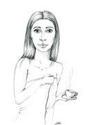 Kaffee im Bett - Copyright© 2012 Natascha Stevenson