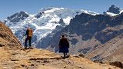 Unterwegs in der Cordillera Huayhuash