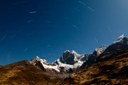 Sternenhimmel über der Cordillera Huayhuash