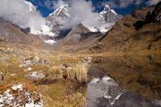 Spiegelung Jirishanca, Cordillera Huayhuash