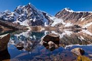 Bergsee in der Cordillera Huayhuash