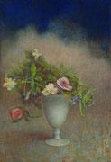 2007 Fleurs dans un verre blanc 10P