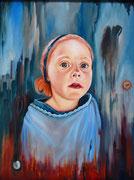 Blick ins Leben (2012), 55,5 x 72,5 cm, Öl auf Holz