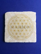 Fliese 10x10 gold