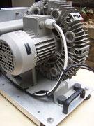 elektrischer Anschluss - 220 Volt.