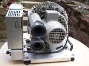 Lufteinlass und Luftauslass - koppelbar an das PVC-U Rohrsystem.