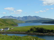 Cuillins from Struan, Isle of Skye