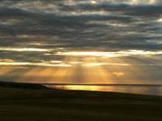 gibt es an der Nordostküste nicht tolle Sonnenuntergänge?