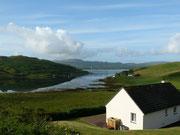 unser Haus auf der Isle of Skye in Struan am Loch Bracadale