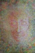 """""""Erscheinung"""" Acryl auf Holzkörper, 30x20x3 cm"""