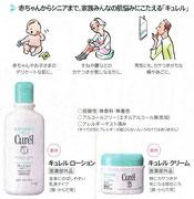 花王 キュレル 新聞広告