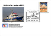 Plusbrief Polizeiboot Bürgermeister Weichmann