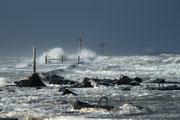 10 Storm aan zee