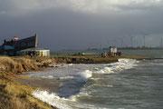 11 Storm aan zee