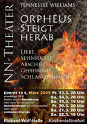 2015 - Tennessee Williams: Orpheus steigt herab - Richard-Wolf-Halle Kirchentellinsfurt