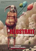copertina del N di agosto 2011 della rivista ILLUSTRATI (edizioni LOGOS)