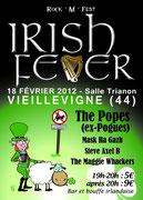 """Concert   """"Irish Fever""""   18.02.2012"""