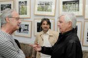 Con JJ Perez Benlloch y Joan M. Oleaque