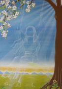 Engel der Unbeschwertheit, Acryl 2011