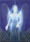 Engel der Berufung, Acryl 2012