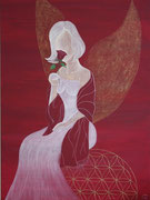 Ich bin Licht und Liebe, Acryl 2010