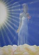 Engel der Selbstliebe, Acryl 2013