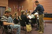 SPEP 2009 bei Führung im MTK-Plenarsaal