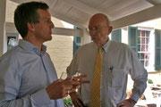 Gespräch mit Vertretern der Marshall-Gesellschaft 2009 (Bild: MTK)