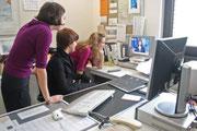 SPEP 2008 beim Praktikum in MTK-Pressestelle