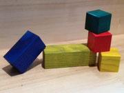 cubes peints 34 € le sac de 30