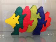 puzzle hérisson 19 €