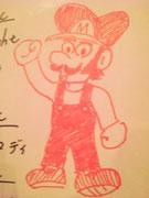 木田画伯 作 『マリオ』