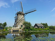 Windmühle bei Kinderdjik, Holland