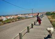 Wanderung zur Praia de Almagrave