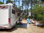 Auf dem Camping Milfontes