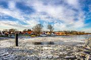 Eisgang auf der Oste bei Oberndorf 20210214-9910
